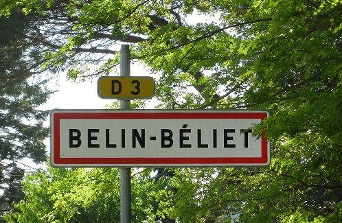 PANNEAU BELIN-BELIET