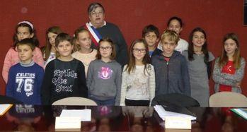 photo conseil municipal des enfants