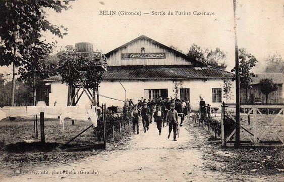 sortie usine Cazenave